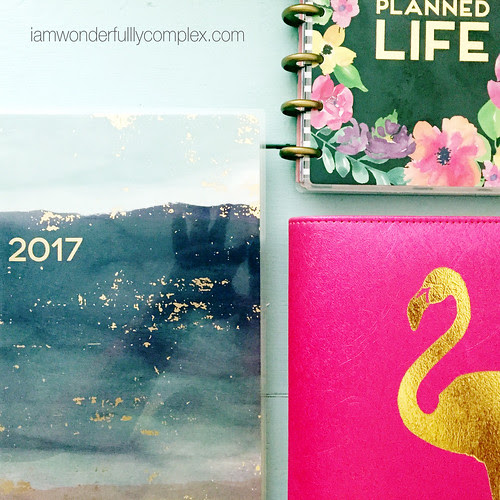 2017 Planner Lineup | Featuring The Happy Planner and Recollections Planner | Wonderfully Complex