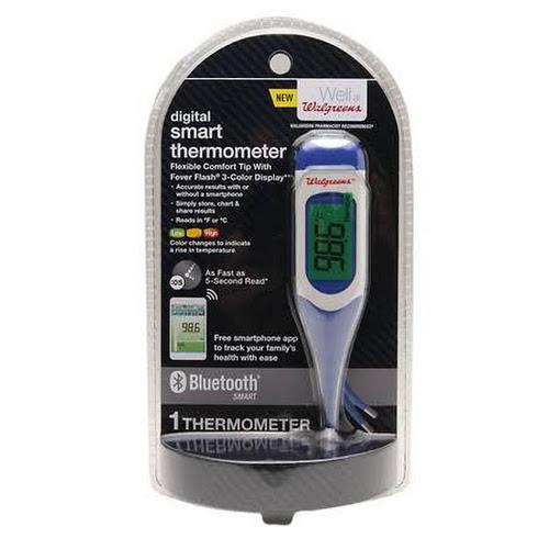 Walgreens Digital Smart Thermometer 1 Ea Google Express