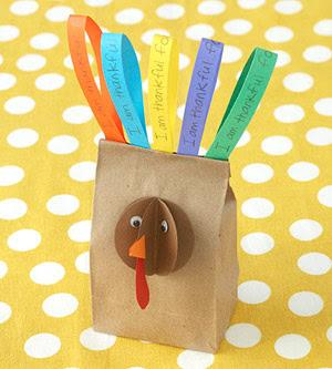 3D Turkey Bag