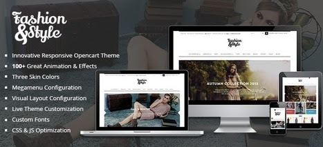 PAV Fashion Open Cart Theme