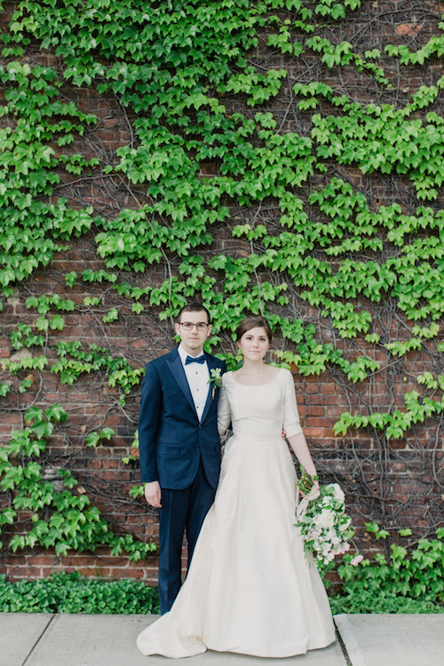 Martha Stewart Weddings: Cristina and Jason at The Foundry