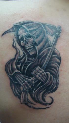 Fotos De La Santa Muerte Para Tatuajes Imágenes De La Santa Muerte