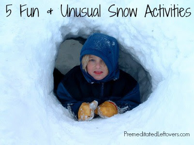 http://premeditatedleftovers.com/naturally-frugal-mom/5-snow-activities-you-probably-have-never-heard-of/