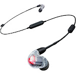 Shure SE846 Sound Isolating Earphones with Bluetooth (Clear) BT-1