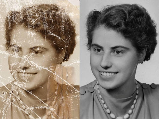 Photo restoration | Photo restoration services - WireCabin