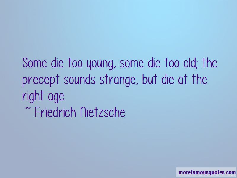 Die Too Young Quotes Top 46 Quotes About Die Too Young From Famous