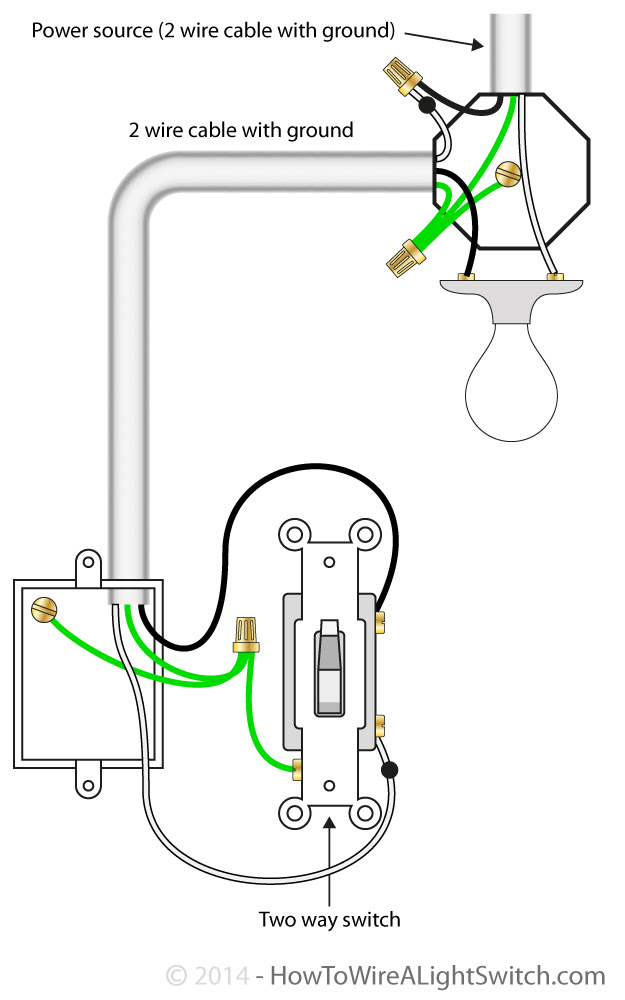21 Unique One Lamp Controlled By Two Switches Circuit Diagram