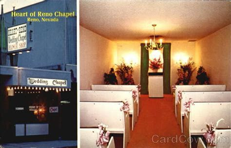 Heart of Reno Wedding Chapel Nevada