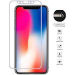 Apple iPhone XR - Apple iPhone XR Full Edge Tempered Glass Screen Protector, Silver