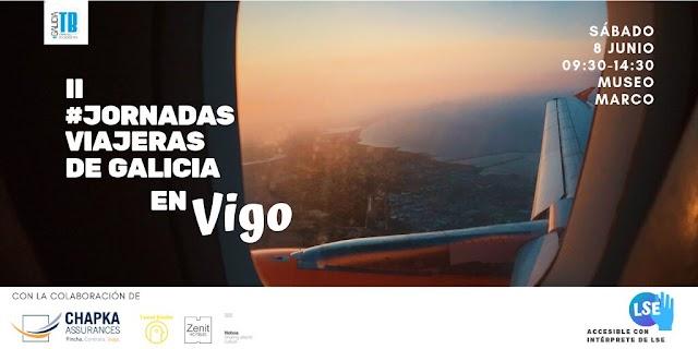 Llegan las II Jornadas Viajeras de Galicia, este año en Vigo