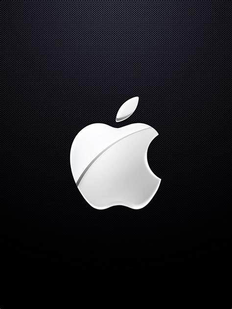 Computers   Apple Chrome Metal Effect Logo   iPad iPhone