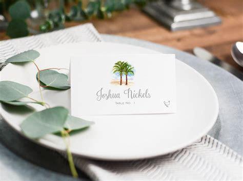 Wedding Place Cards Etiquette   Mospens Studio