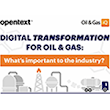 Infographic: Digital transformation for oil and gas