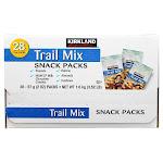 Kirkland Signature Trail Mix Snack Packs, Trail Mix, 2 oz, 28-count