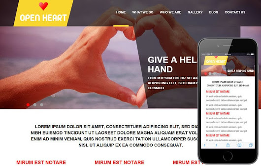Open Heart a Charity Category Flat Bootstrap Responsive web template by w3layouts
