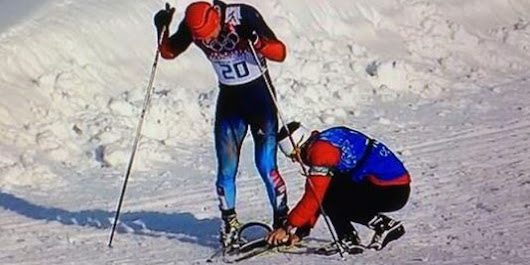 A Canadian Helped This Russian Finish His Race