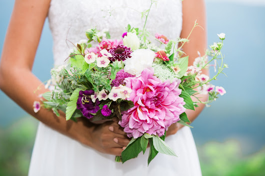Add Flowers to your Elopement Package ~ Elope Outdoors ~ Asheville, NC