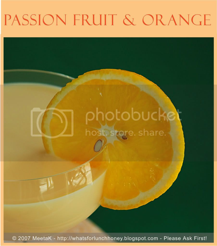 Passion fruit Orange Shake (02a) by MeetaK