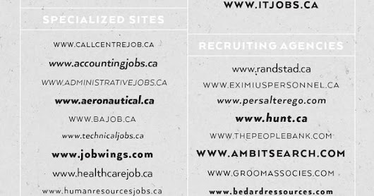 Profilia CV - Job hunting, tips & interesting tactics