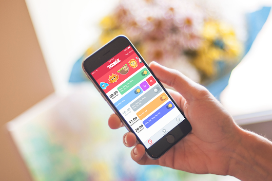 Case Study: Toonie. UI Design for the Alarm App.