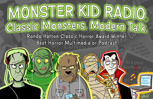Great interview by Monster Kid Radio!