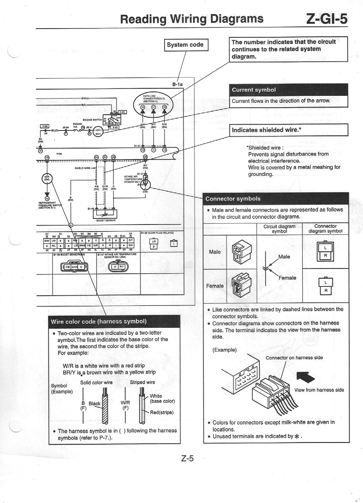 Pmx626 Info Us Mazda 626 Mx 6 Work Shop Manuals Scans 2001 Wiring Diagram