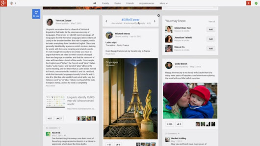 Google+ Gets 41 New Features, Including an Awesome New Interface