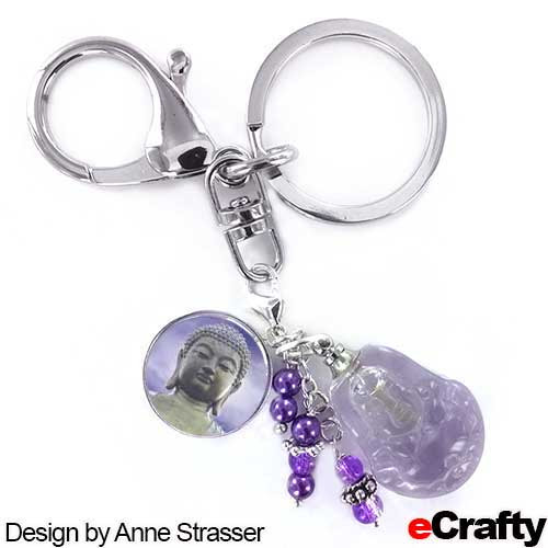 DIY Lavender Aromatherapy Stress Relief Charm from eCrafty.com