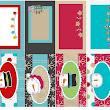 Fold Over Christmas Gift Tags for Gift Bag Handles - Printables