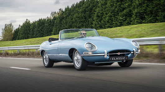 The Electric Jaguar E-Type Zero Is The World's Most Beautiful Car Reworked For The Future