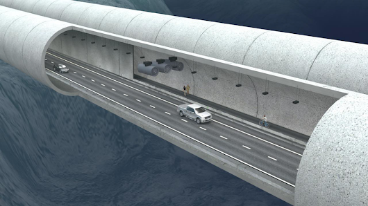 Norway could build the world's first floating tunnel