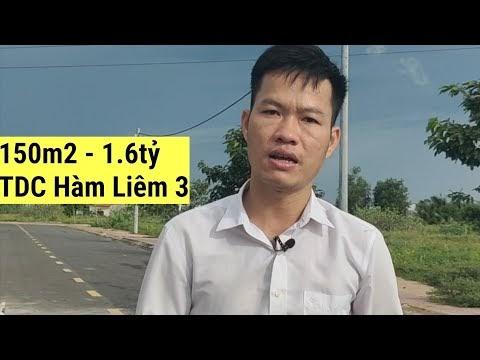 Bán 150m2 KDC Tái định cư Hàm Liêm 3 sau KCN Phan Thiết, giá 1,6 tỷ