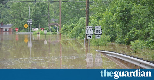 US could see extreme rains increase of 400% by end of century | Environment | The Guardian