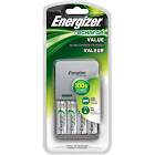 Energizer Recharge Value Charger with 4 AA Batteries