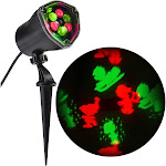 Gemmy Whirl-A-Motion LED Peanuts Light Show Projector Multicolored
