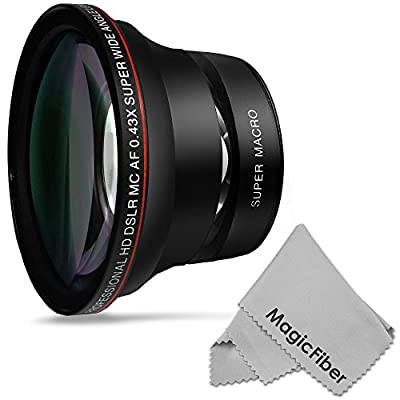 Buy 58mm 043x Altura Photo Professional Hd Wide Angle Lens W