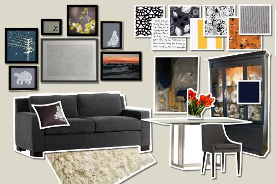 Warm And Cozy Dining Room Moodboard: The Clueless Homeowners: Mood Board Monday! A Cozy Chic
