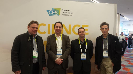 "IPSIDE on Twitter: ""IPSIDE à la rencontre de la French Tech au CES de Las Vegas #CES2016 #FrenchTech """