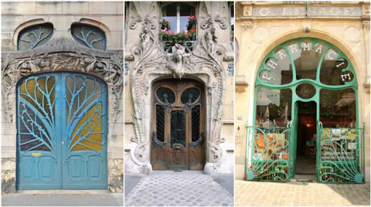 Just because we LOVE them: A collection of Art Nouveau doors from around the world