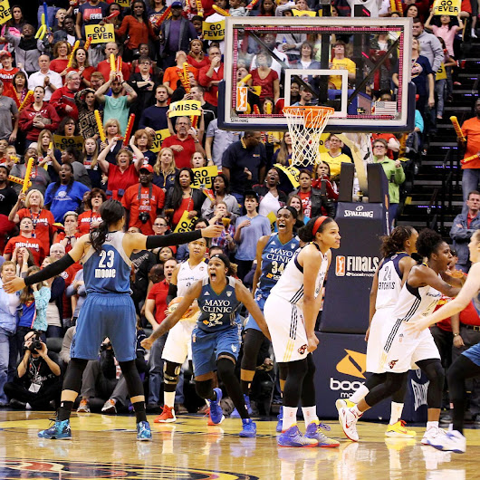 Indiana Fever stunned by Minnesota Lynx's last-second buzzer-beater