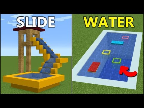 Minecraft: 15+ Summer Build Hacks!