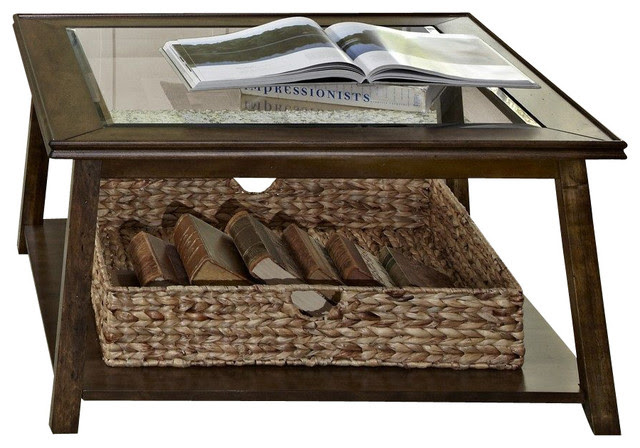 Baskets Under Coffee Table Home Design Inside