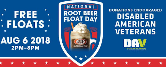 National Root Beer Float Day Deals on August 6, 2018 - Saving Toward A Better Life