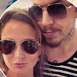 Millie Mackintosh shows off her svelte figure in a skimpy bikini top and tiny Daisy Dukes as she enjoys an exotic holiday with Professor Green
