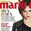 'I'm a bit OCD about perfectionism': Emma Watson smoulders on the cover of Marie Claire and reveals she's her worst critic