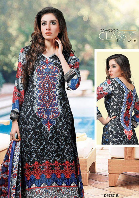 Dawood-Textile-Classic-Lawn-Collection-2013-New-Latest-Fashionable-Clothes-Dresses-9