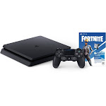 Sony PlayStation 4 Fortnite Neo Versa PlayStation 4 Bundle - 1 TB - Jet Black