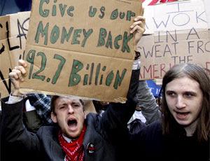 protesto nova york wall street (Foto: AP)