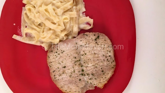 Easy Baked Ranch Pork Chops - The Mom Maven