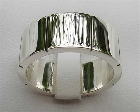 Chunky Silver Ring For Men : LOVE2HAVE in the UK!